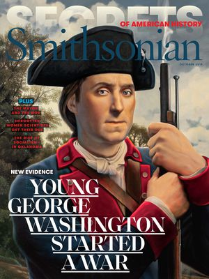 September 2019 Smithsonian Magazine cover