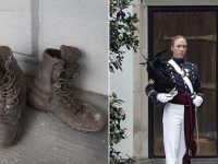 Citadel regimental commander photos by Annie Leibovitz