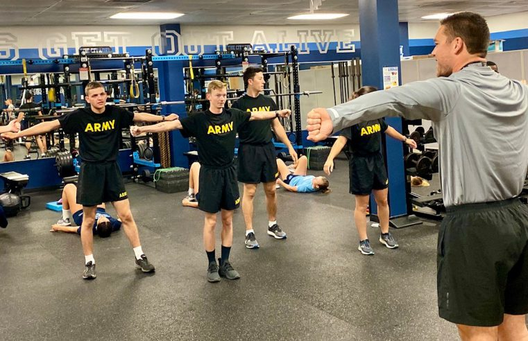 AROTC caders train for new fitness test