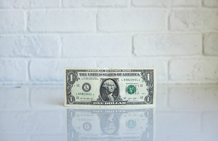 Photo of a one dollar bill