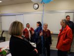 Faculty and staff say goodbye to Julie Lipovsky