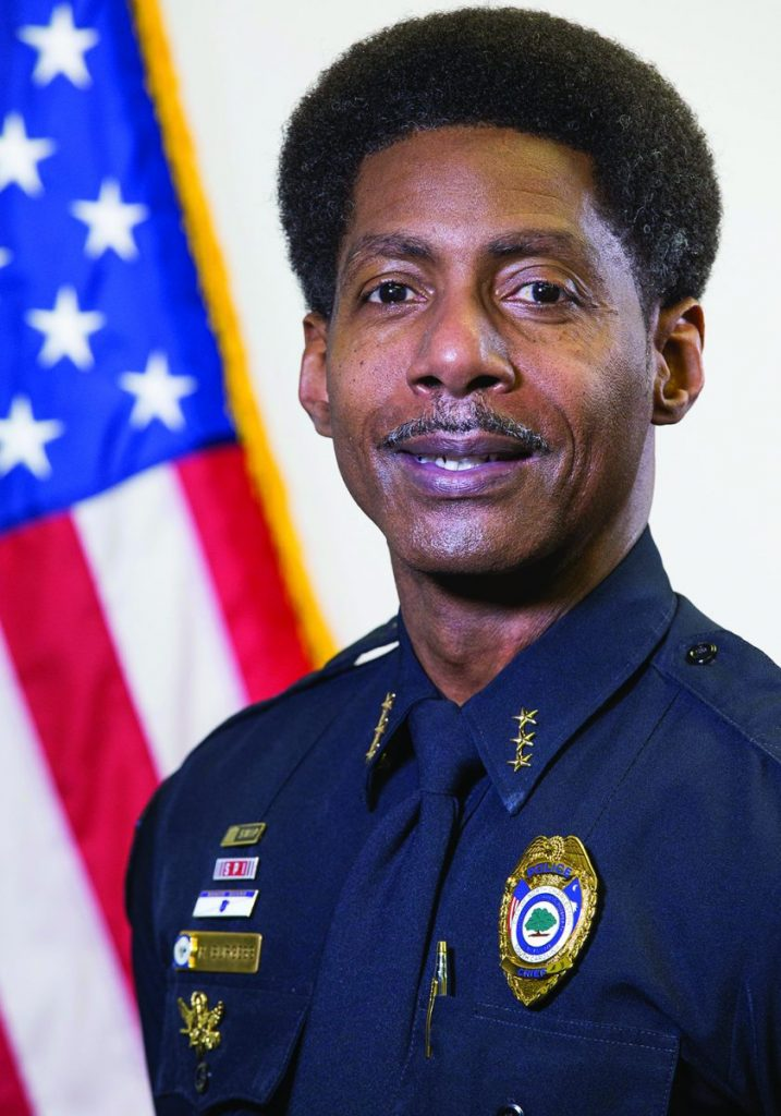 North Charleston Police Chief Reggie Burgess (Courtesy: Charleston Chronicle)