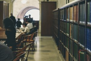 Photo of library by Davide Cantelli on Unsplash