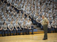 General Glenn Walters addresses campus regarding COVID-19
