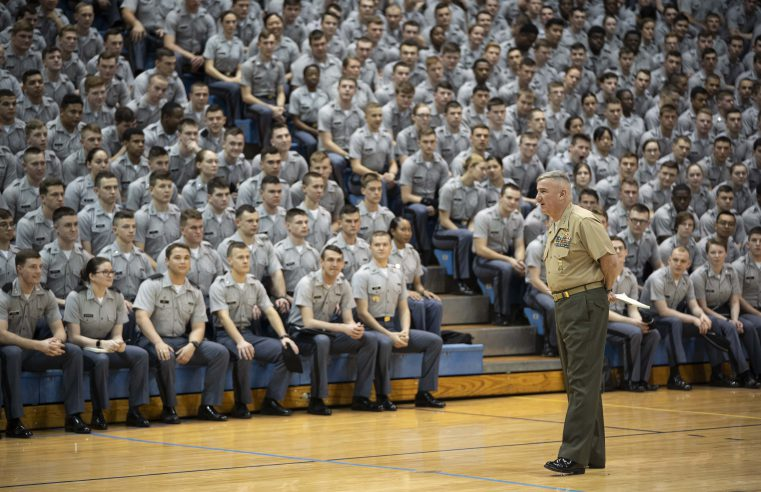 General Glenn Walters addresses campus regarding COVID-19