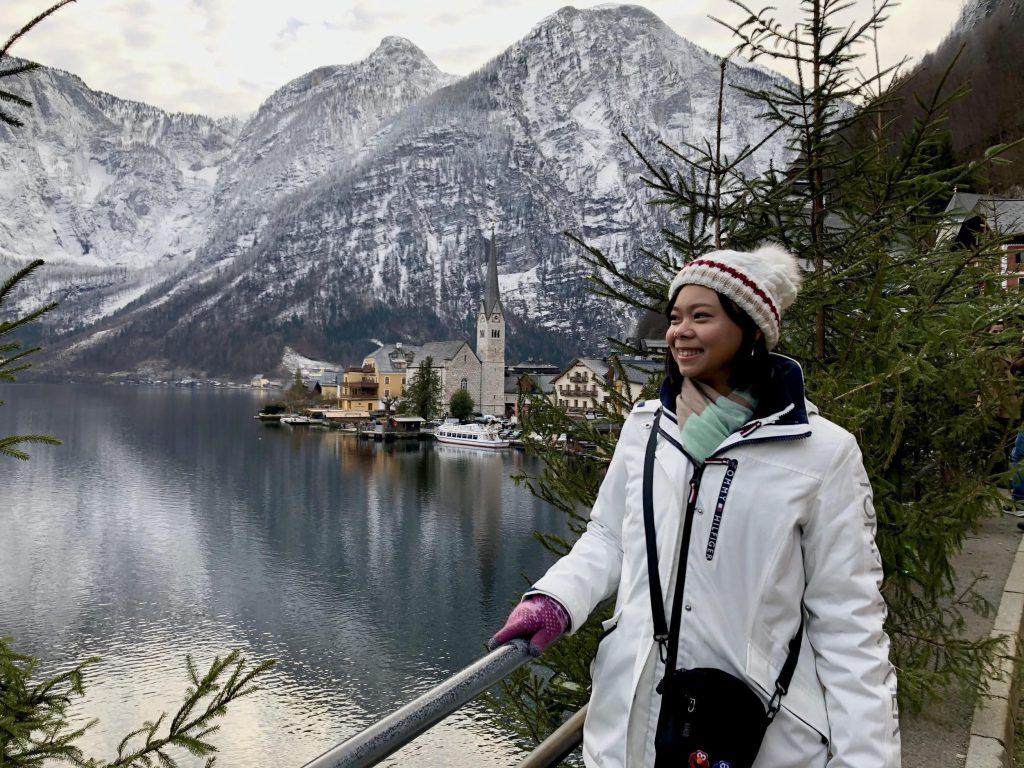 Citadel Cadet Pei Hsuan Lu, on winter furlough in Austria in 2019