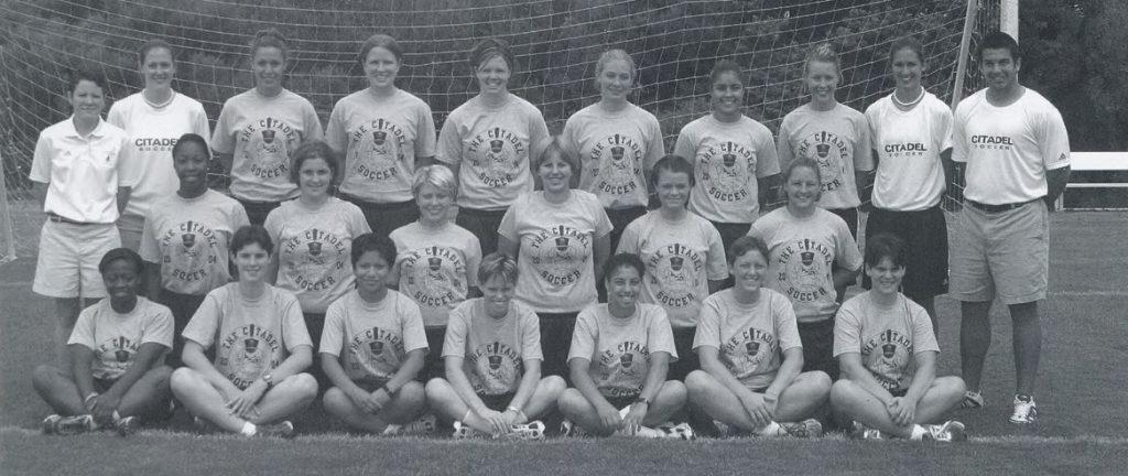 Citadel soccer teamm 2005