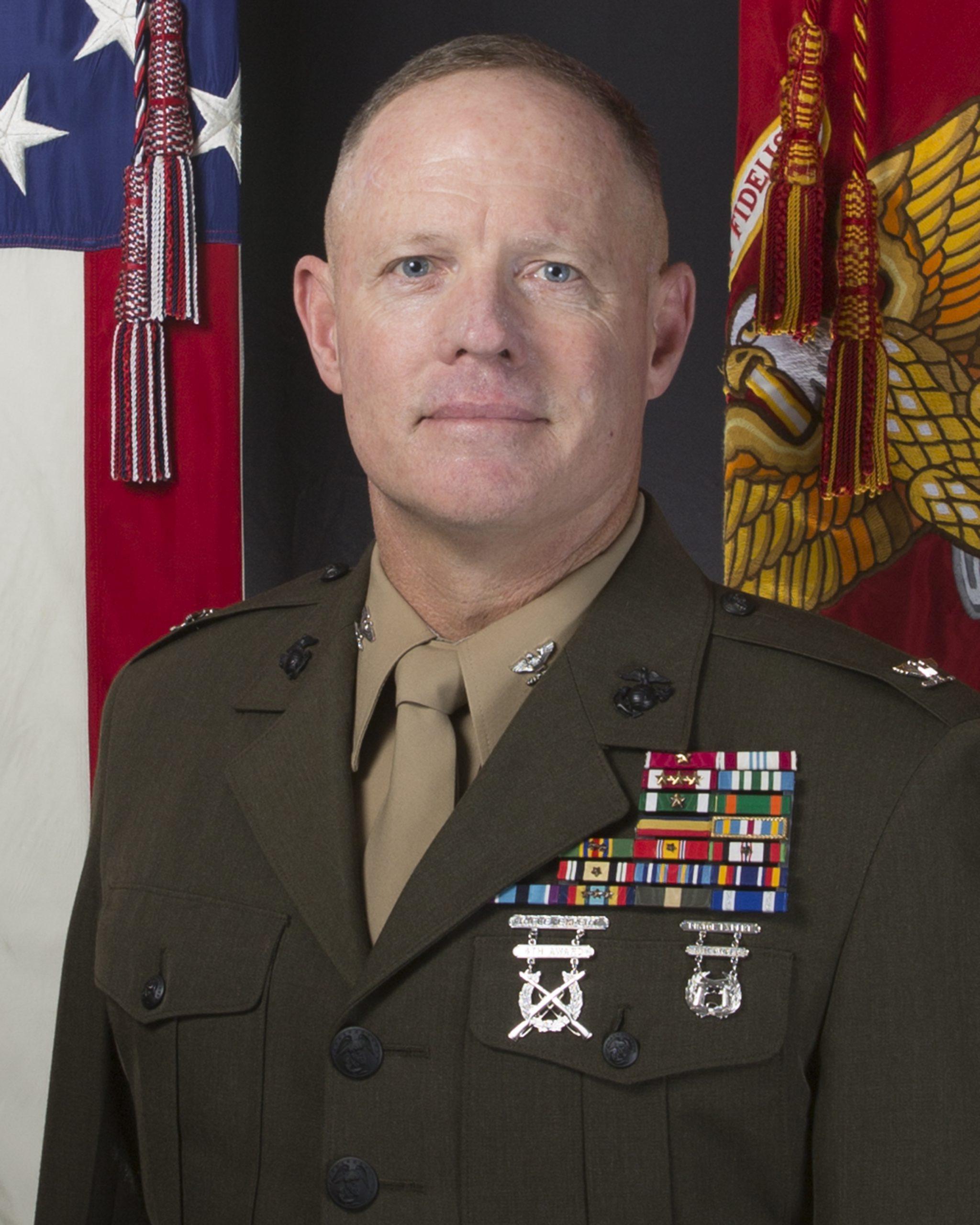 Col Tom Gordon headshot