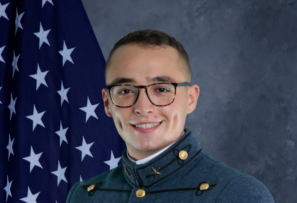Cadet Gomes senior yearbook photo The Citadel '21