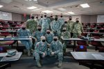 First cohort of students for The Citadel Department of Defense Cyber Institute