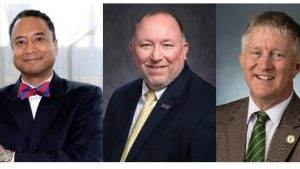 Three finalists for the position of Dean of The School of Engineering at The Citadel