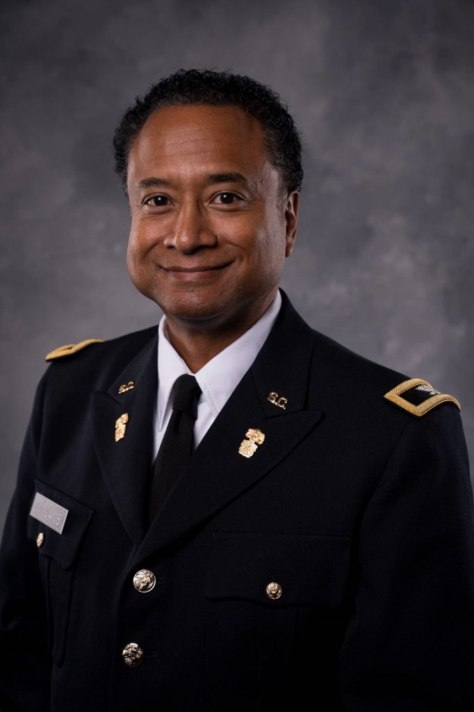 Andrew Williams, Ph.D., Dean for The Citadel School of Engineering