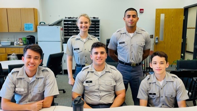 The Citadel Cybercorps Scholarships for Service 20221-22 cohort