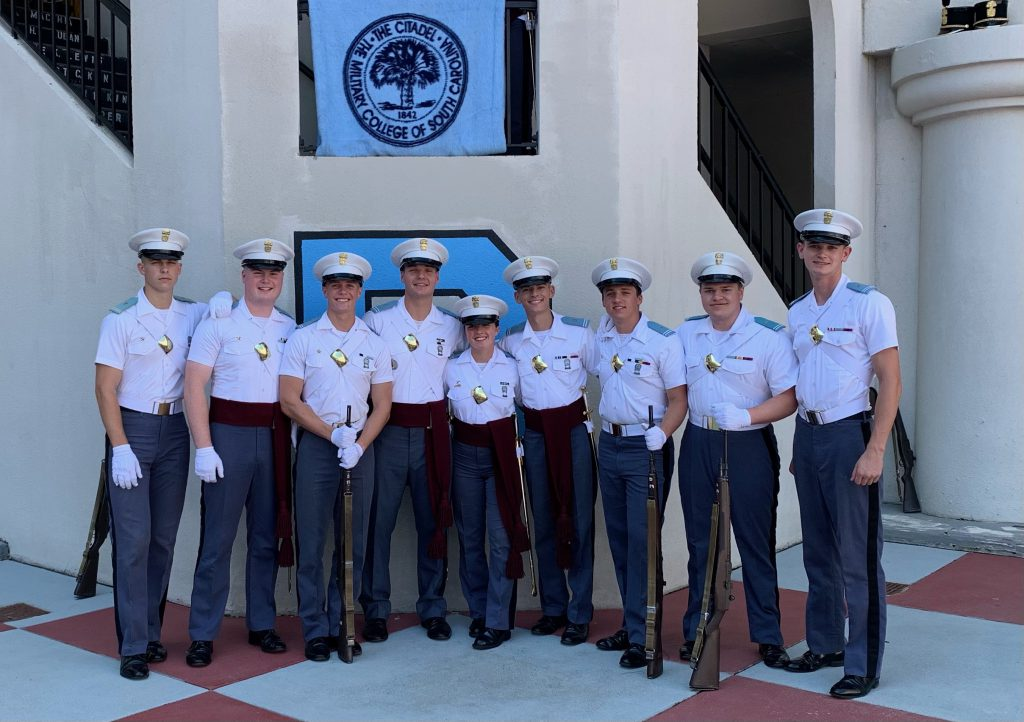picture-with-the-cadets-from-left-to-right-is-Avery-Canady-me-Porter-Beal-Tim-Toomer-Marie-Le-Gallo-Blake-Durden-Evan-Lambrecht-George-Mock-and-Colby-Bennett.-scaled.jpeg